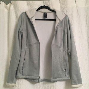 North Face Fleece-lined Zip Jacket